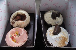 Lecker! Eine Auswahl an Cupcakes