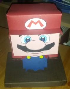 Mario als Suprise-Verpackung