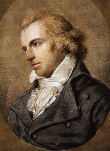 Friedrich Schiller porträtiert von Ludovike Simanowiz im Jahr 1794 (Bild Wikipedia, gemeinfrei)